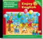 А/к (CD MP3)  ПО.Обучающая компьютерная программа. Enjoy English 2 класс  Английский с удовольствием