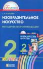 Копцева 2 класс. Изобразительное искусство  Методические рекомендации. ФГОС (21век.)